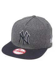 New Era - New York Yankees Classic Melton Snapback Hat (A-Frame)