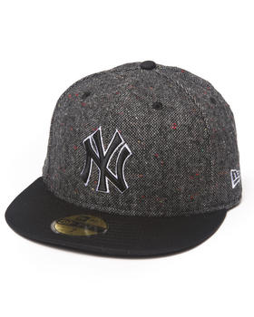 New Era - New York Yankees Tweed Crest 5950 fitted hat