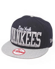 New Era - New York Yankees NE V-Team Snapback hat