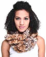 Black Friday Shop - Women - Faux Fur Infinity Scarf