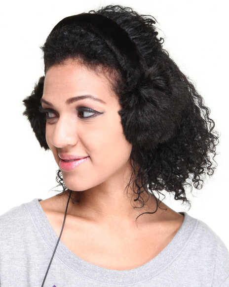 Drj Accessories Shoppe Black Earmuffs