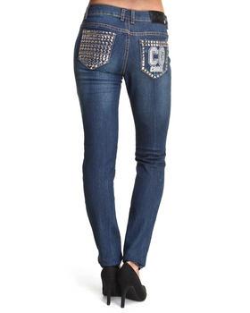 COOGI - Studded Back Pocket Jean