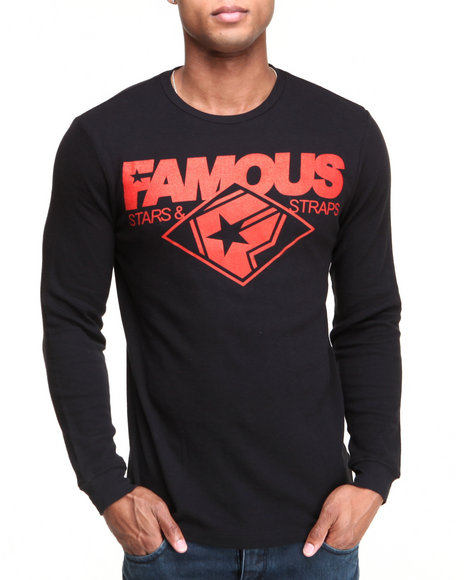 Famous Stars & Straps Black Change Up Thermal