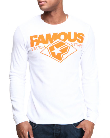 Famous Stars & Straps - Men White Change Up Thermal