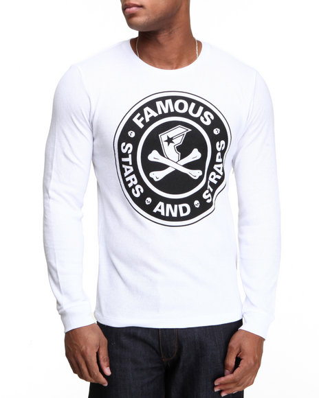 Famous Stars & Straps - Men White Fambucks Thermal