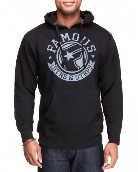 Famous Stars & Straps Black The Pride Men's Pullover Hoodie