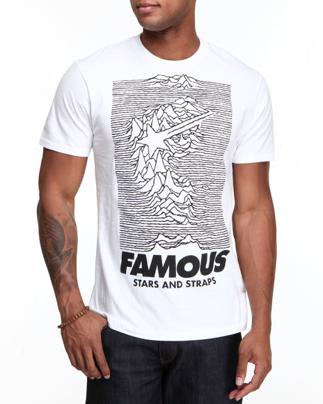 Famous Stars & Straps White Pulsar Tee
