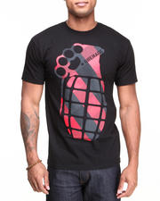 T-Shirts - Knuckle Plaid Tee