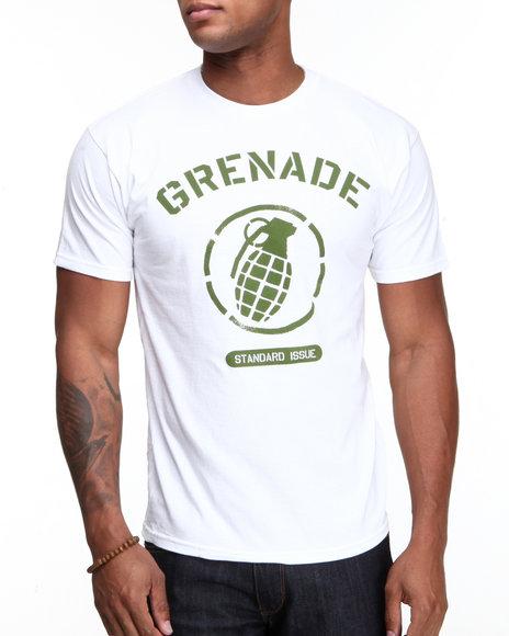Grenade White Stadium Tee