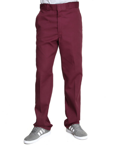 Dickies Red Original Dickies 874 Pant