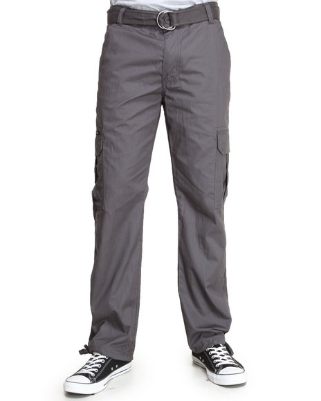 Enyce Men Musket Cargo Pants Grey 38x32