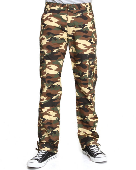 Enyce Camo Troop Cargo Pants