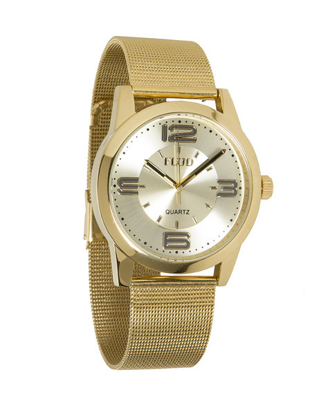 Flud Watches Men The Ludlow Watch Gold 1SZ
