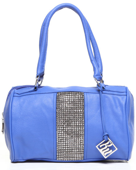 Rocawear Natasha Bling Trim Satchel Blue
