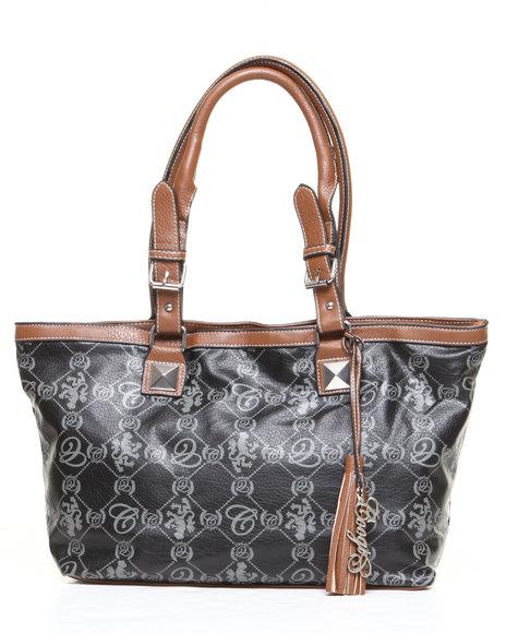 Coogi Grace Tote Handbag Black
