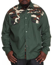 Men - Sniper L/S Button-Down (B&T)