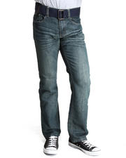 Basic Essentials - Unlimited Denim Jeans with Belt