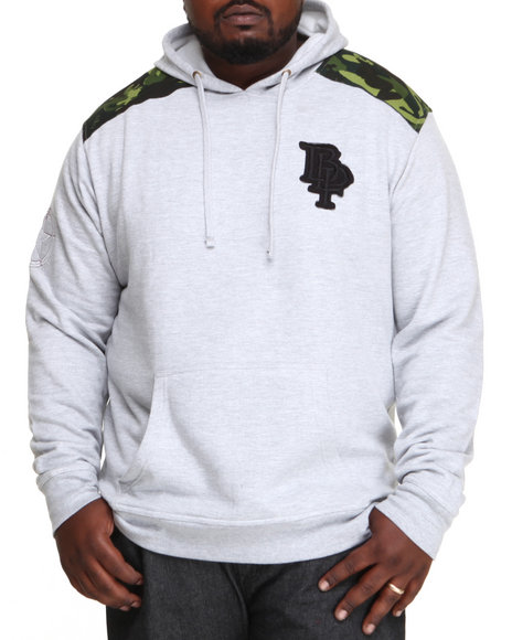 Blac Label Men Grey Moscow Pullover Hoodie (B & T)