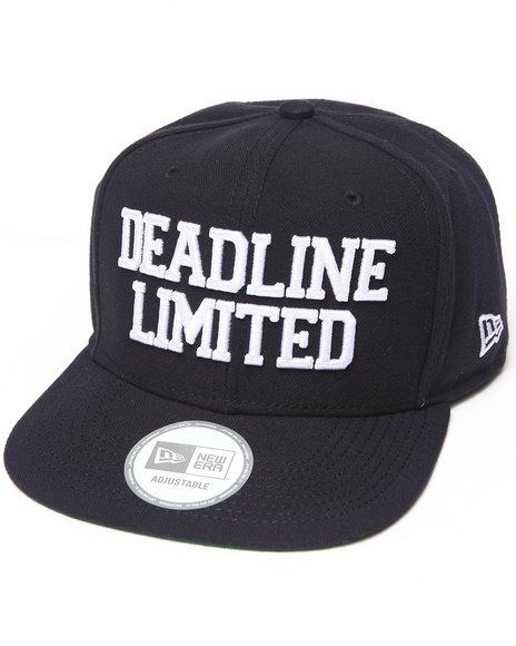 Deadline Dl Logo New Era Snapback Cap Black