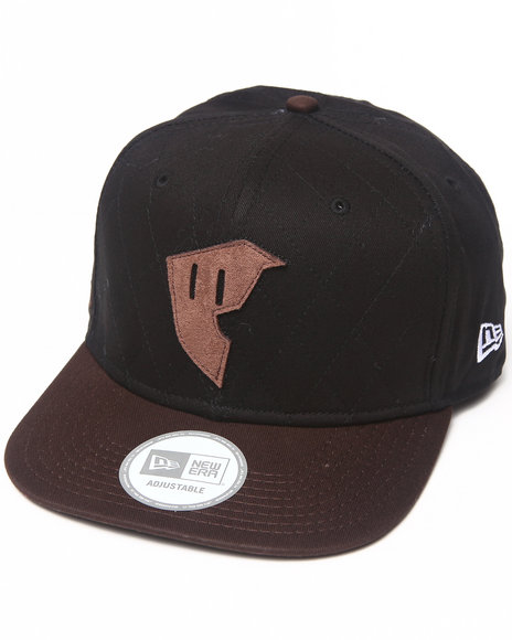Famous Stars & Straps Supply New Era Hat Black