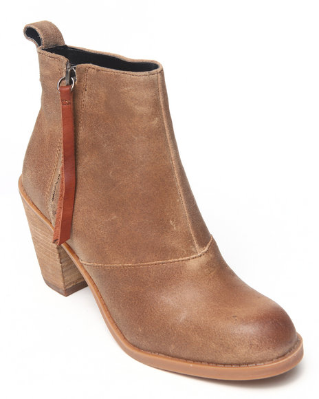 DV by Dolce Vita Brown Joust Bootie