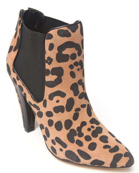 Dv By Dolce Vita - Women Animal Print Fife Bootie