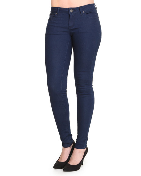Basic Essentials - Women Indigo Super Stretch Fabric Jegging