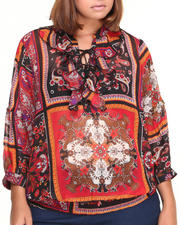Fashion Lab - Paisley Chiffon Blouse