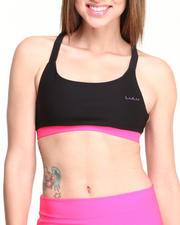 DRJ Performance Shoppe - Lulu Poly Spandex Sports Bra
