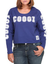 Tops - Long Sleeve Coogi All-over Top (Plus)