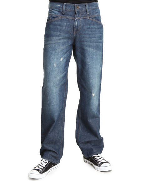 Girbaud Dark Wash X-Edge Relaxed Fit Denim Jeans