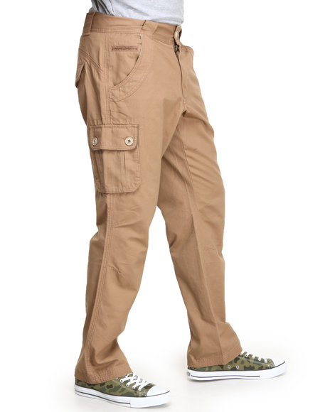 Parish Khaki Fauna Twill Cargo Pants