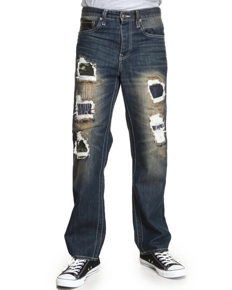 Parish Olive Froe Denim Jeans
