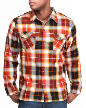 Enjoi - Not Bad Plaid L/S Button-down