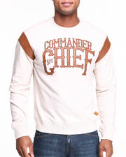 Parish - Commander Crewneck Fleece Sweatshirt