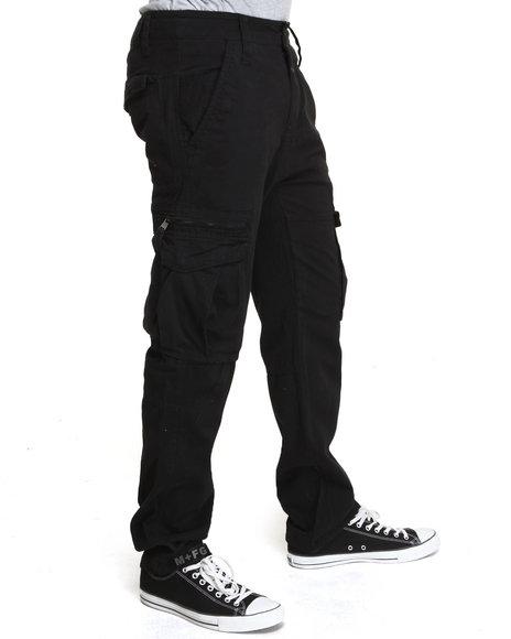 Black Mens Cargo Pants