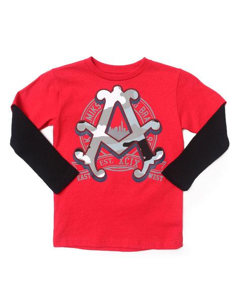 Akademiks - Boys Red Camo