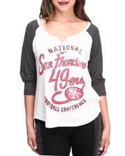Junk Food - San Francisco 49ers Rookie Raglan