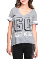Women - Oakland Raiders Tailgate Tee