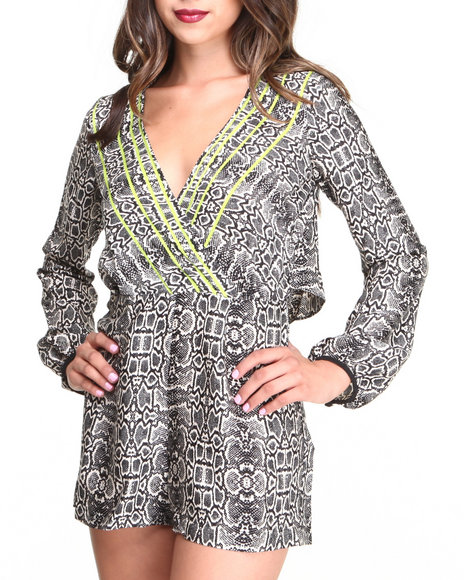 Dv By Dolce Vita - Women Multi Calissi Romper