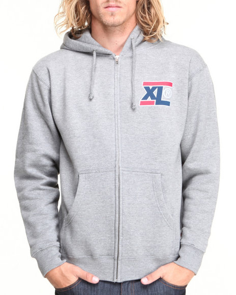 X-Large Grey Hoodies