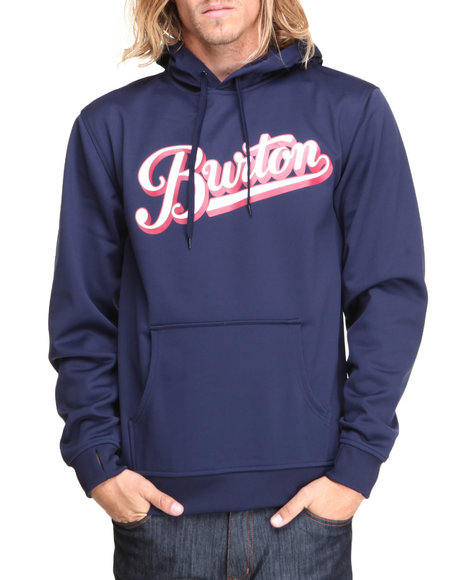 Burton - Men Navy Crown Bonded Pullover Hoodie