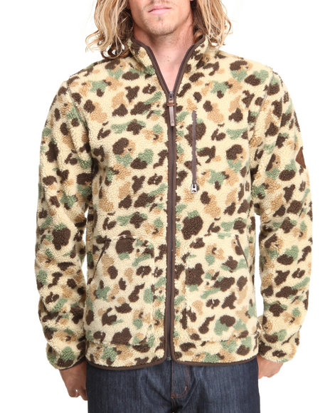 Burton - Men Camo Underhill Fleece Jacket