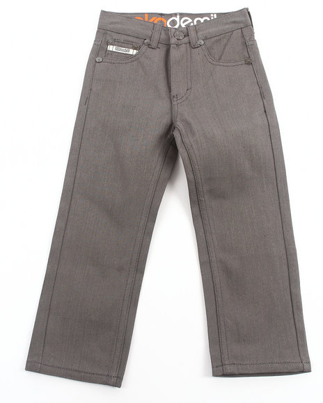 Akademiks Boys Grey Signature Colored Rolodex Jeans (4-7)