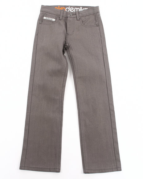 Akademiks Boys Grey Signature Colored Rolodex Jeans (8-20)