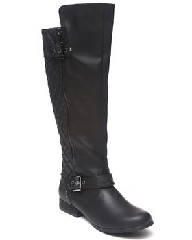 Not Rated - Uptown Quilted Back Side Zip Boot