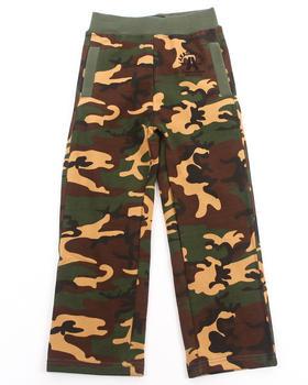 Akademiks - Camo Fleece Pants (4-7)