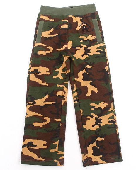 Akademiks - Boys Camo Camo Fleece Pants (4-7)