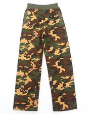 Boys - Camo Fleece Pants (8-20)