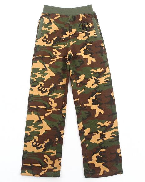 Akademiks - Boys Camo Camo Fleece Pants (8-20)